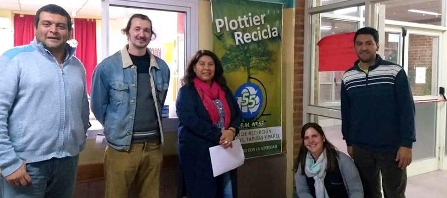 [Plottier] La ciudad tiene donde reciclar sus residuos