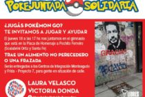 [CABA] 18/8 Pokejuntada: Donda y Velasco convocan a actividad solidaria. Rebotes