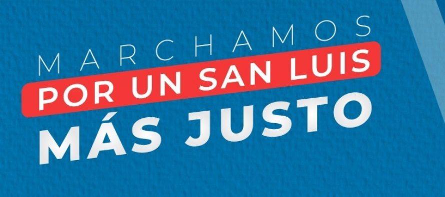 [San Luis] Marchamos por un San Luis más justo