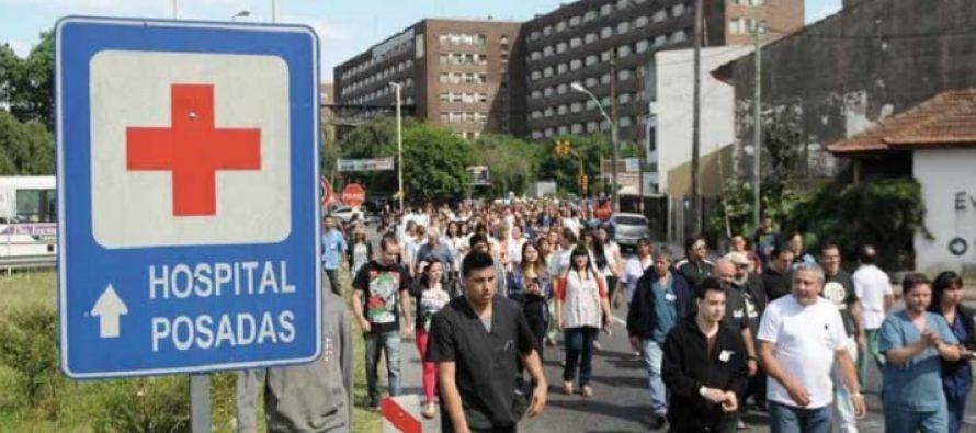 Hospital Posadas. La salud pública se defiende. Basta de despidos