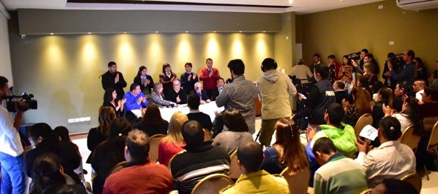 [Chaco] Consenso Federal presentó precandidatos a diputados y senadores nacionales