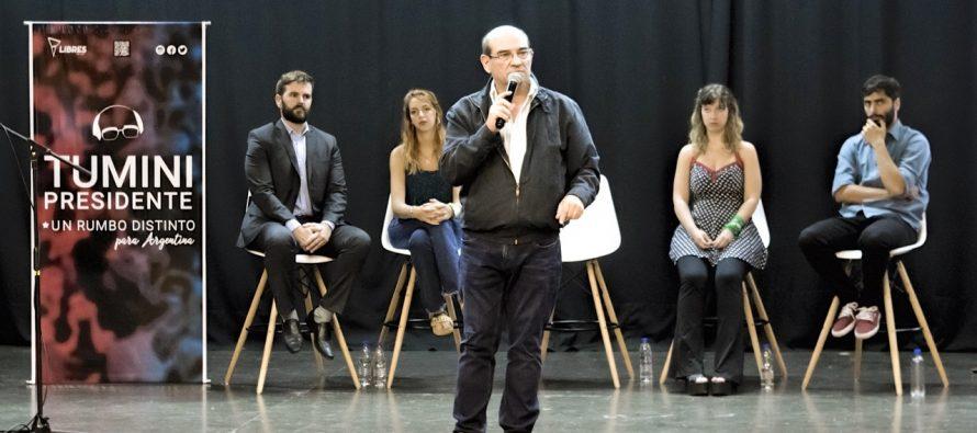 [Mar del Plata] El referente máximo de Libres del Sur lanzó en esta ciudad su campaña presidencial