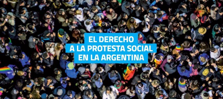 Conferencia de Prensa reclamando el cese de practicas intimidatorias del derecho a la protesta