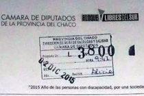 [Chaco] Presentan proyecto de ley para limitar las licencias en cargos electivos
