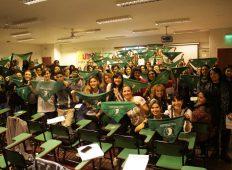 Puntos verdes por el Aborto legal, seguro y gratuito en Córdoba
