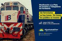 [La Plata] 15/3 Marcharán para que vuelva el tren