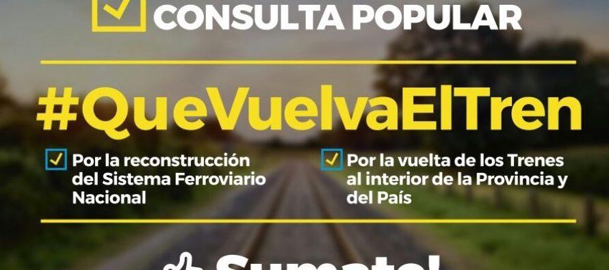 [Bs. As.] Repercusiones sobre el lanzamiento de la Consulta Popular #QueVuelvaElTren