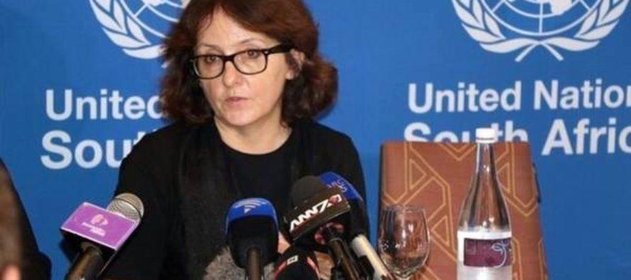 Donda con la relatora de la ONU sobre violencia contra la mujer