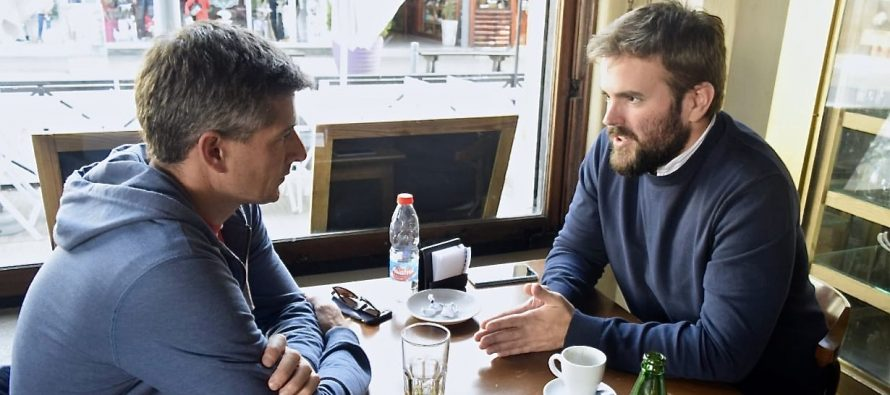 [Mar del Plata] Rodrigo Blanco se reunió con dirigentes políticos en Tandil