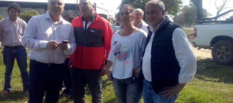 Gabriel Romero recibe el apoyo de correntinos en el interior