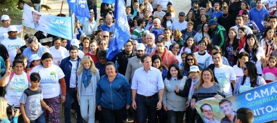 [Corrientes] Junto a Camau, LDS lleva sus propuestas a los barrios
