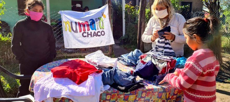 [Chaco] Barrios de Pie presenta la campaña Invierno Solidario: roperos comunitarios en los barrios.