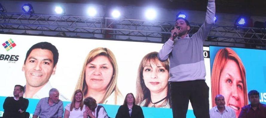 [Plottier] Ruiz Intendenta, Lopez y Guala Concejales.