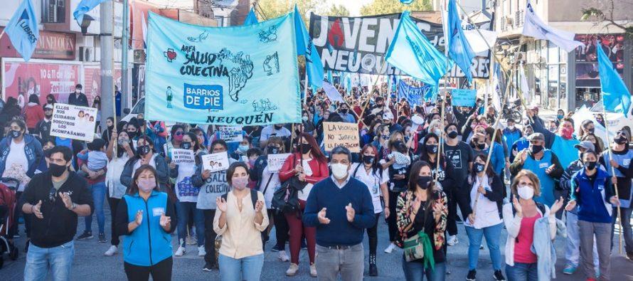 """[Neuquén] Jesús Escobar: """"Debe haber una recomposición salarial justa para salud"""". Masiva movilización."""