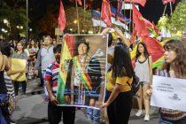 Como en todo el país, Libres del Sur se movilizó en defensa de la paz y la democracia en Bolivia.