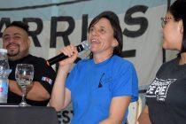 [Bs. As.] Silvia Saravia, visita la localidad de Chivilcoy