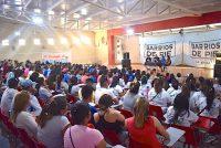 [Santiago del Estero] Silvia Saravia visitó la provincia. Importante plenario de Barrios de Pie.