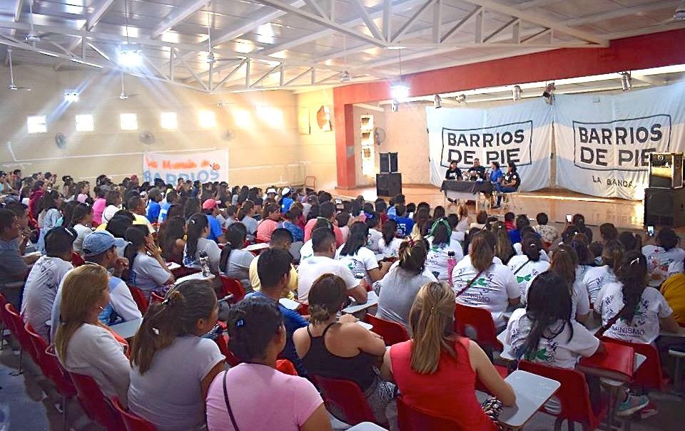Silvia Saravia visitó la provincia. Importante plenario de Barrios de Pie. - Movimiento Libres del Sur