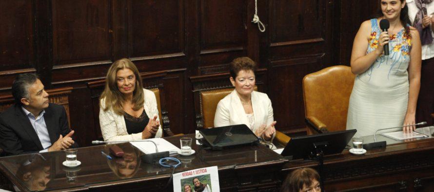 [Mendoza] Silvina Anfuso expuso en la Asamblea por la Equidad