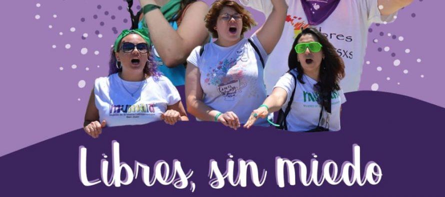 25N:  Nos queremos Libres Sin Miedo. Movilizaciones.