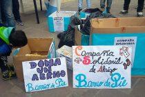 [Neuquén] Ante el crudo invierno Barrios de Pie continúa campaña solidaria