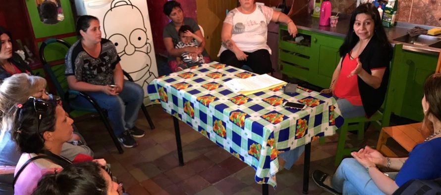 [Chaco] Nancy Sotelo compartió proyecto de subsidio para mujeres víctimas de violencia