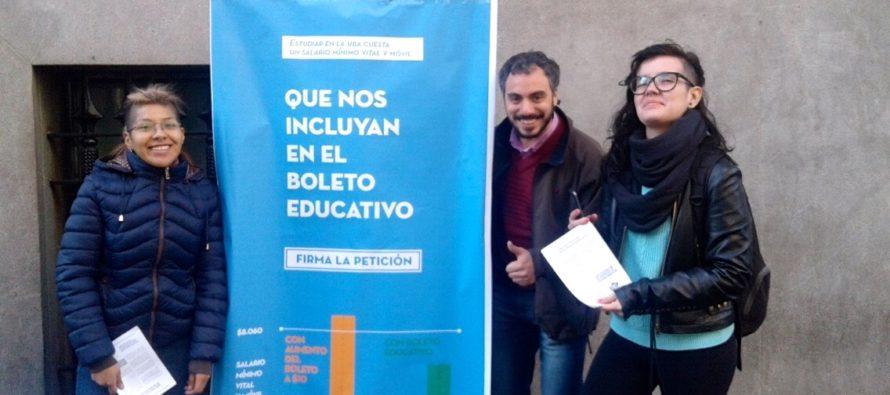 [CABA] Universitarios exigen ser incluidos en el boleto educativo