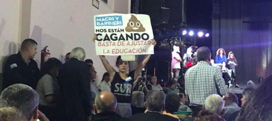 """[CABA] Elección de rector UBA. """"Macri y Barbieri nos están cagando"""" dice Sur"""