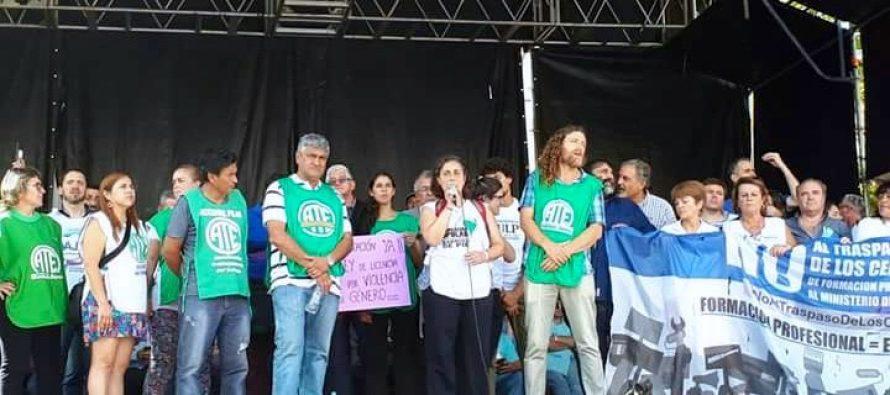 [La Plata] Contundente paro provincial le dice no a la política de Vidal