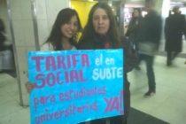 [CABA] Libres del Sur pide la implementación de la tarifa social para universitarios