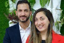 Daniela Gasparini compañera de fórmula de Matías Tombolini