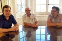 [CABA] Humberto Tumini se reunió con Roy Cortina