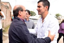 Juan Manuel Urtubey y Humberto Tumini juntos en Salta