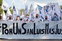 [San Luis] Masiva movilización de Libres del Sur.