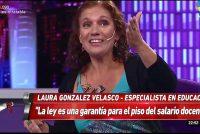 """[CABA] Laura Velasco en Intratables: """"El 60% de los niños y adolescentes son pobres"""""""