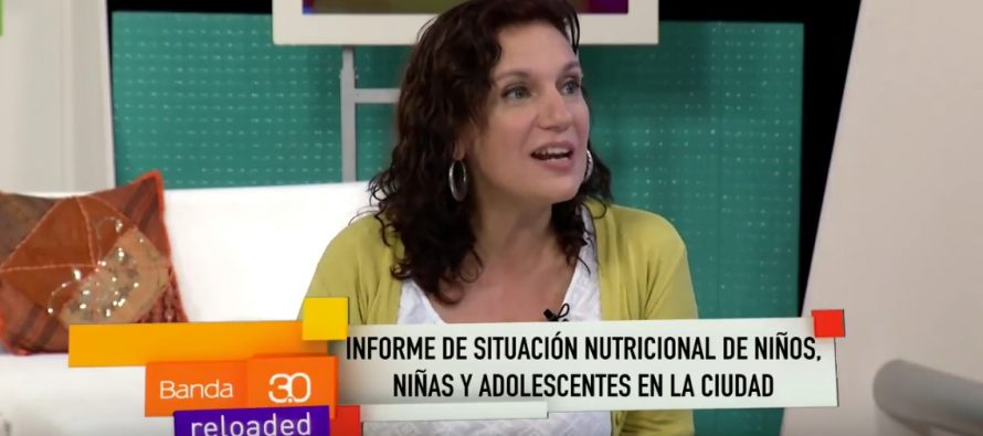 Laura Velasco en Canal Metro sobre malnutrición infantil