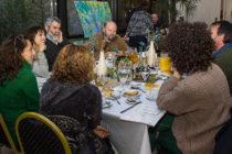 [CABA] Victoria Donda realizó un desayuno de trabajo con ambientalistas
