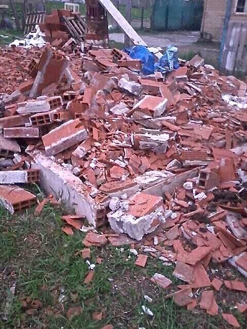 vivienda destruida