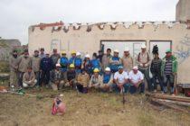 [Moreno] Obra del Plan Federal de Viviendas a cargo de Barrios de Pie