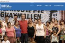 [Mendoza] El senador Mancinelli presenta su página web