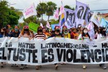[Chaco] Las Mujeres y las Disidencias marcharon bajo la consigna
