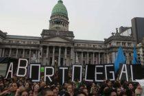 Argentina da el primer paso para legalizar el aborto