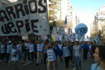 [Escobar] Barrios de Pie se movilizará al Ministerio de Seguridad