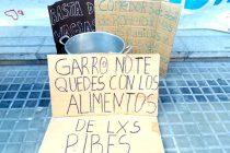 [La Plata] Barrios de Pie continúa con la campaña nacional de donación de leche en polvo