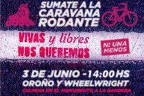 [Santa Fe] 3J  #NiUnaMenos. Registro de Femicidios. Caravana Rodante