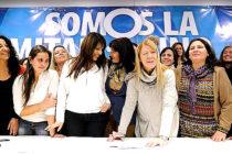 [Mar del Plata] Victoria Donda junto a Stolbizer en el Encuentro Nacional de Mujeres Progresistas