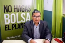 [Santiago del Estero] Fernando Gimenez presentó proyecto para regular gestión ambiental de baterías eléctricas.