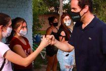 [San Luis] Mansilla se reunió con militantes de Libres del Sur La Toma