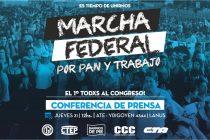 [Lanús] Conferencia de Prensa por Marcha Federal