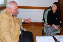 [Tucumán] El diputado Federico Masso se reunió con la Ministra Stanley
